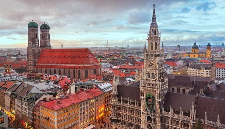 Kurzurlaub in München_Stadtübersicht