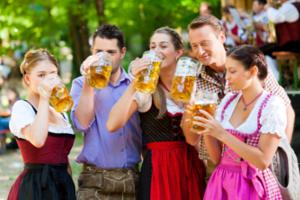 Münchner Frühlingsfest_Feiern