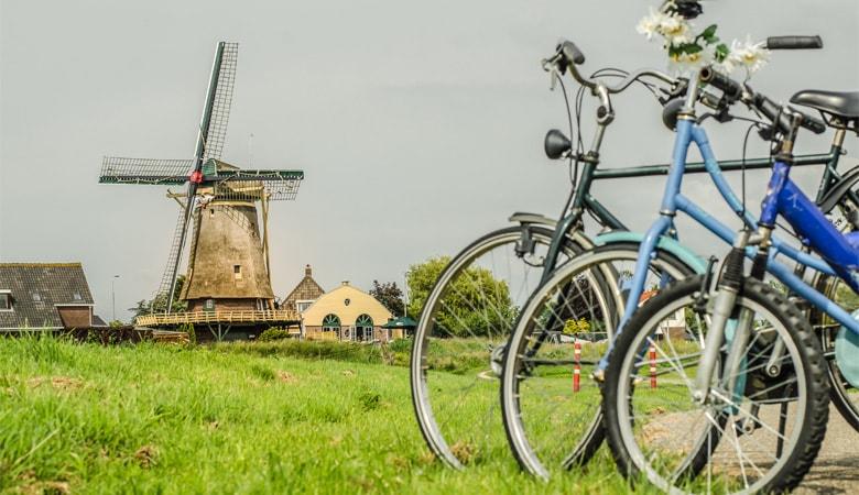 Niederlande_Fahrradroute_Flevoland_Ijsselmeer