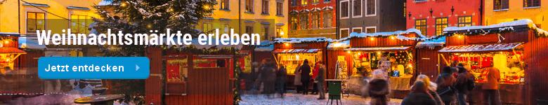 Weihnachtsmärkte erleben