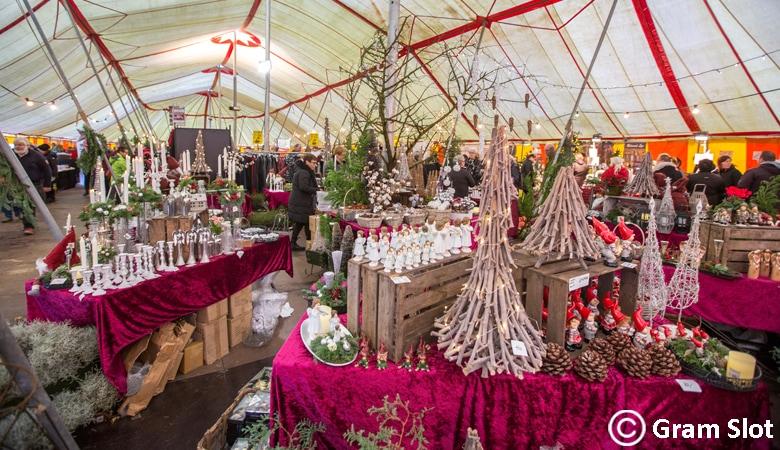 Weihnachtsmarkt Dänemark Gram_Slot_Weihnachtsstand