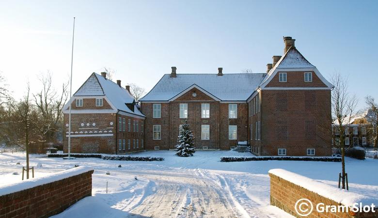 Weihnachtsmarkt Dänemark Gram_Slot_Winterbild