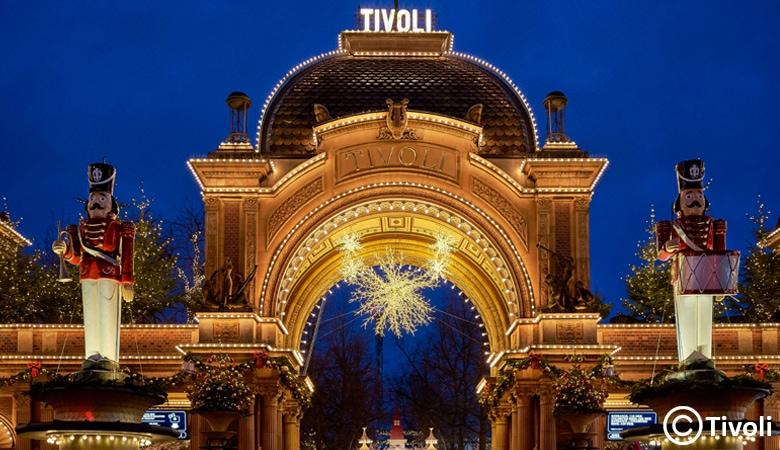 Weihnachtsmarkt Dänemark Tivoli
