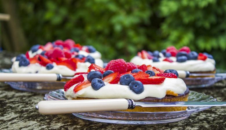 Dänemark Urlaub Kuchen