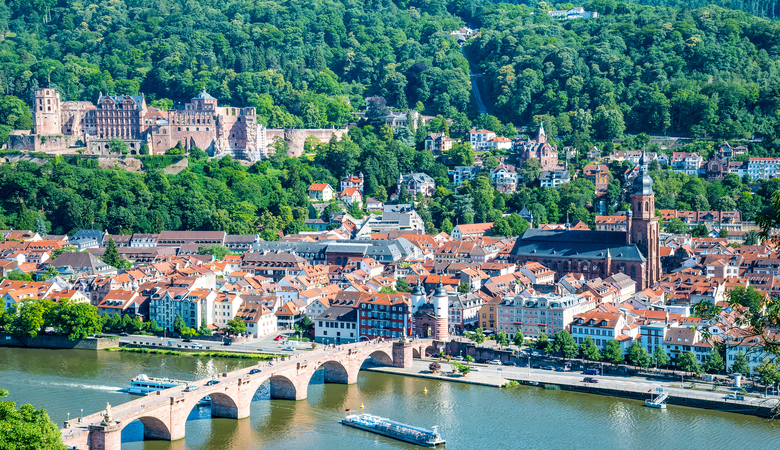 Die romantischste Stadt in Deutschland - Heidelberg