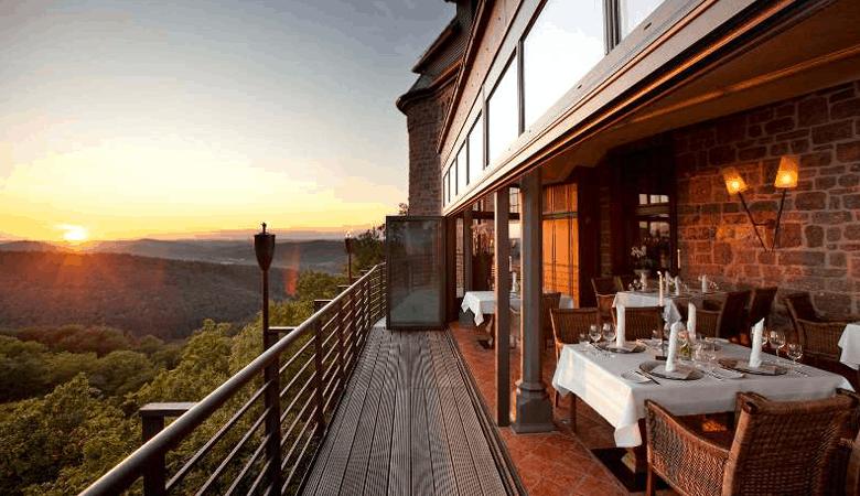 Luxushotel in Deutschland - Romantik Hotel auf der Wartburg