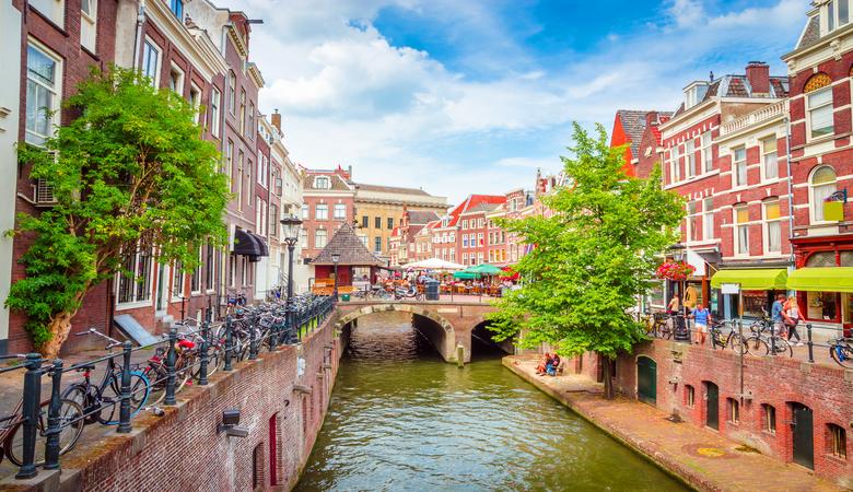 3.Erkundet Utrecht bei eurem romantischen Urlaub zu zweit