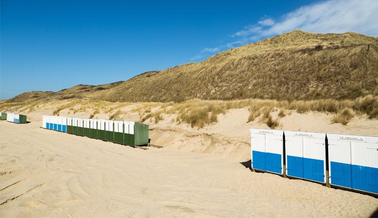 Schönster Strand in Holland