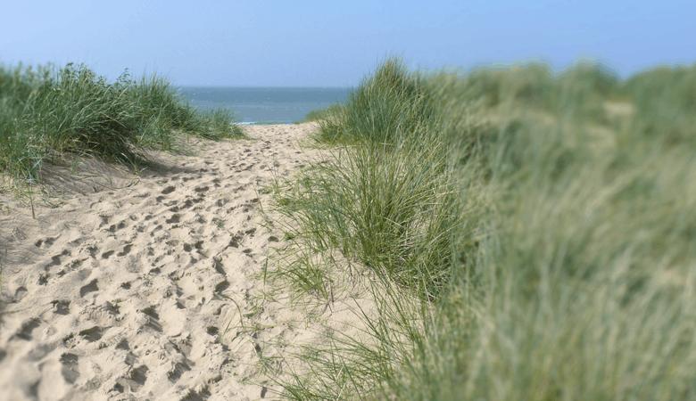 Längste Strand von Belgien in Middelkerke