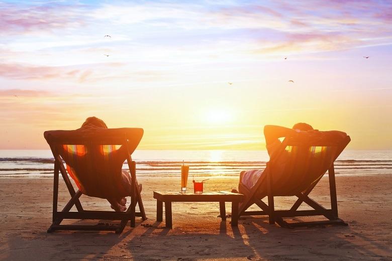 Kleine romantische Hotels am Meer