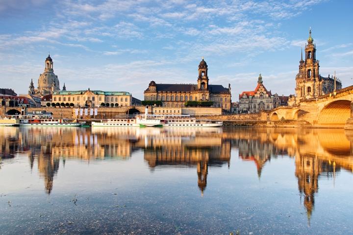 Altstadt, Dresden, Elbpanorama