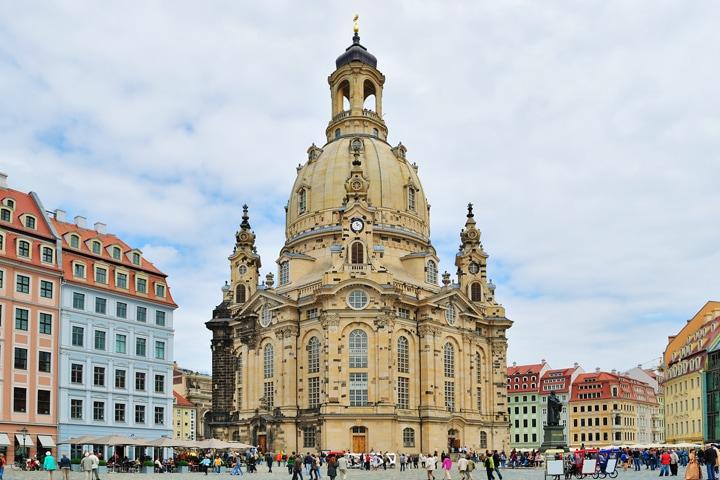 Frauenkirche, Dresden, Altstadt
