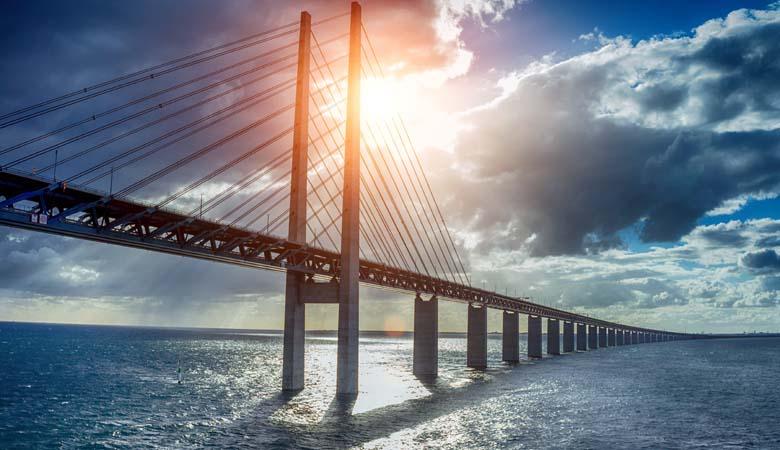 Öresund Brücke Kopenhagen Malmö
