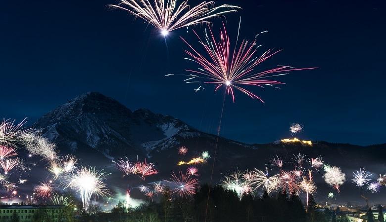 silvester feurerwerk in österreich