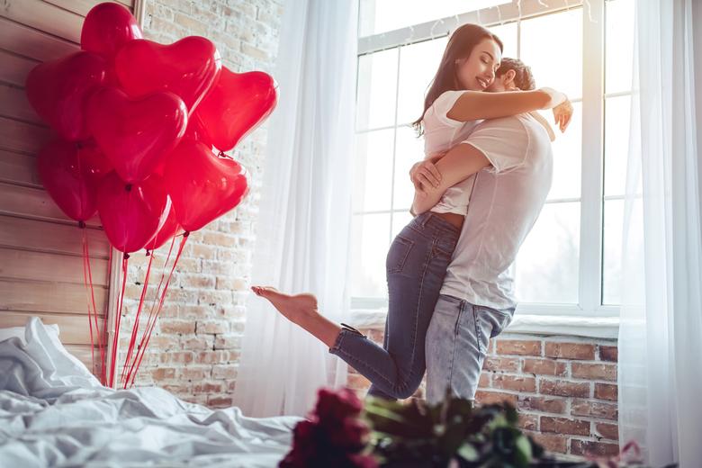 romantischer valentinstag