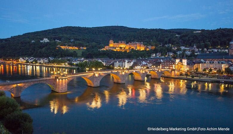 Urlaub im Juni in Heidelberg