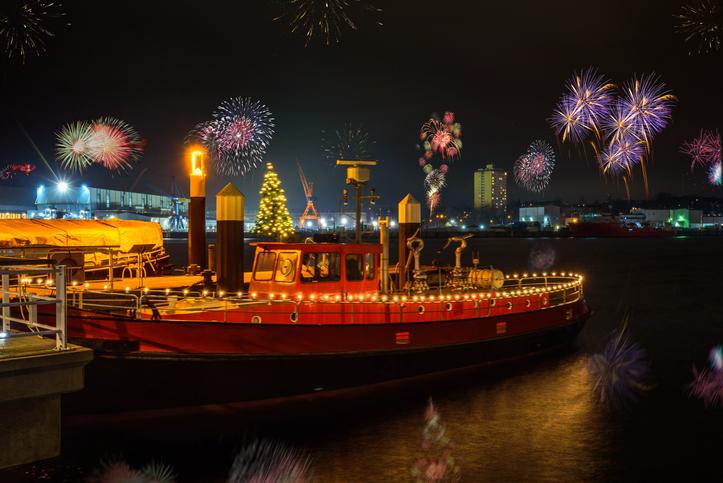New Year's Eve in Kiel