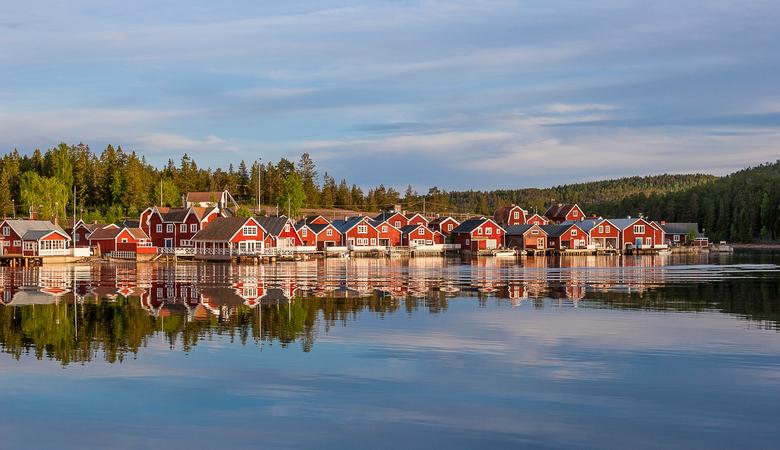 August Urlaub in Schweden
