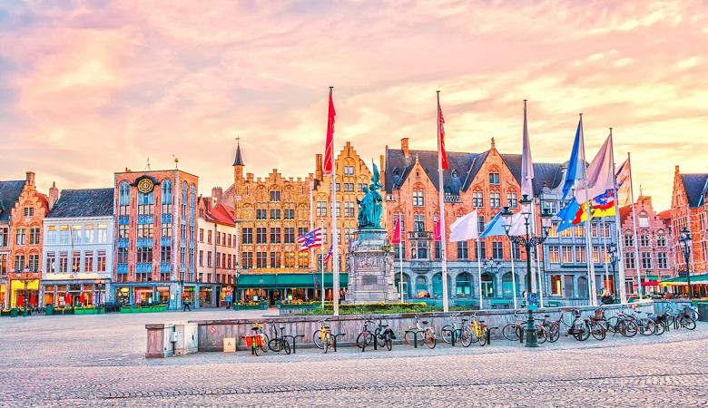 Urlaub im April in Belgien