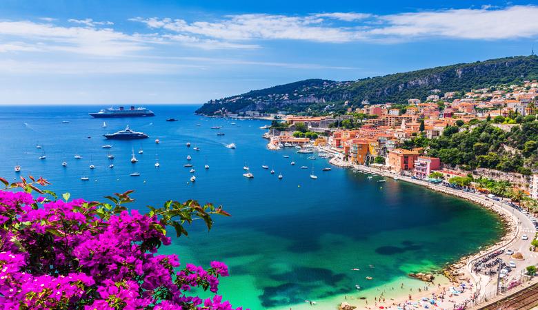 Mai Urlaub an der Côte d'Azur