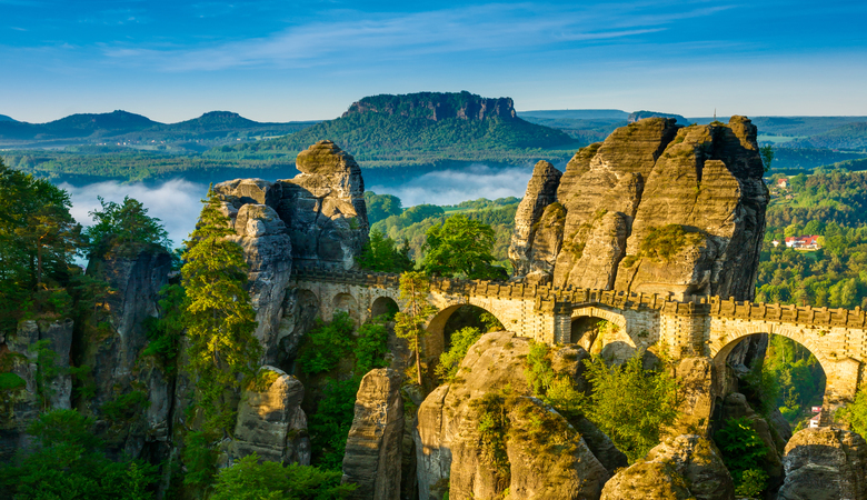 Aktiv im Mai Urlaub: die Sächsische Schweiz