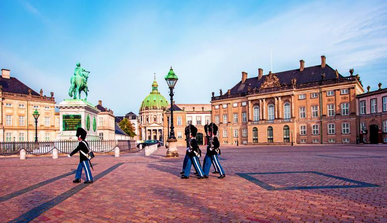 Kopenhagen Sehenswürdigkeiten - Schloss Amalienborg
