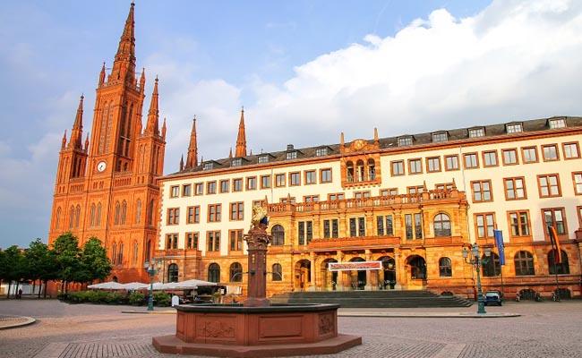 Schöne Altstadt Wiesbaden