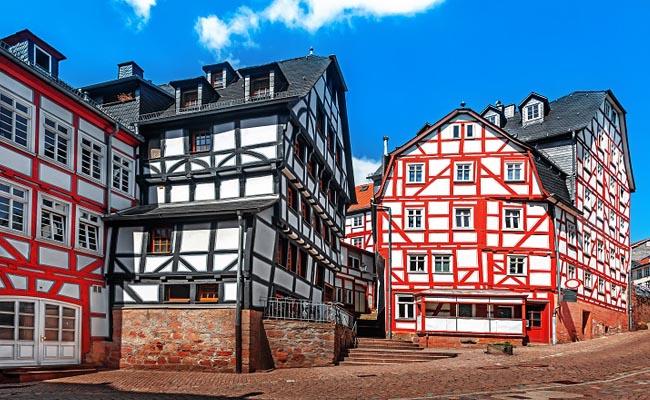 Schöne Altstadt Marburg